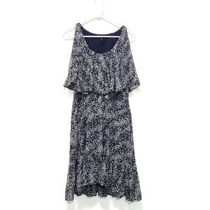CYNTHIA STEEFE Spotted Sequin Carey Dress Navy 4